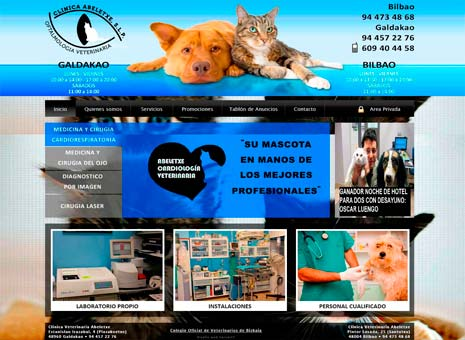 project clinica veterinaria abeletxe