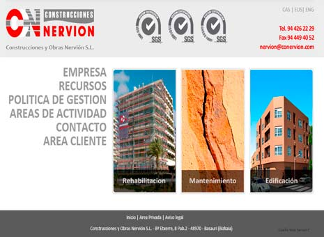 project construcciones nervion